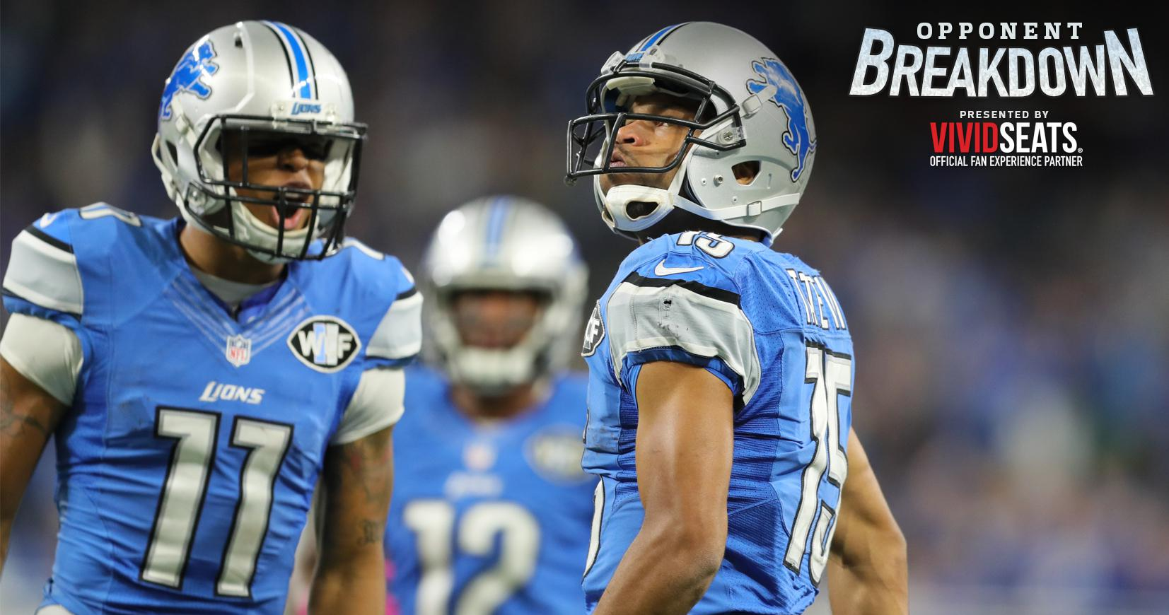 Opponent Breakdown How Have Lions Replaced Calvin Johnson