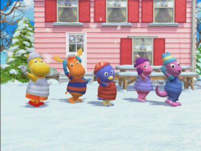 watch the secret of snow (ep 7) the backyardigans season 2