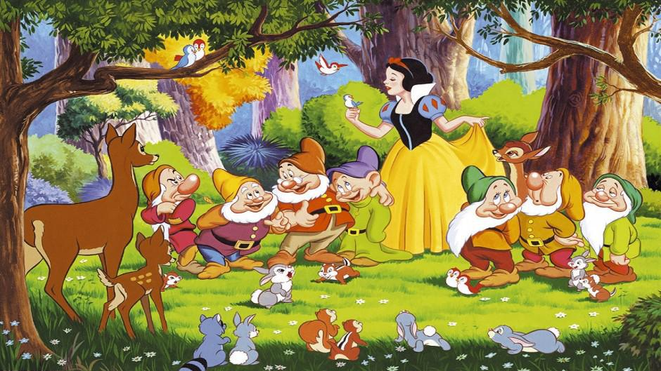 Рисунок белоснежки из сказки белоснежка и семь гномов