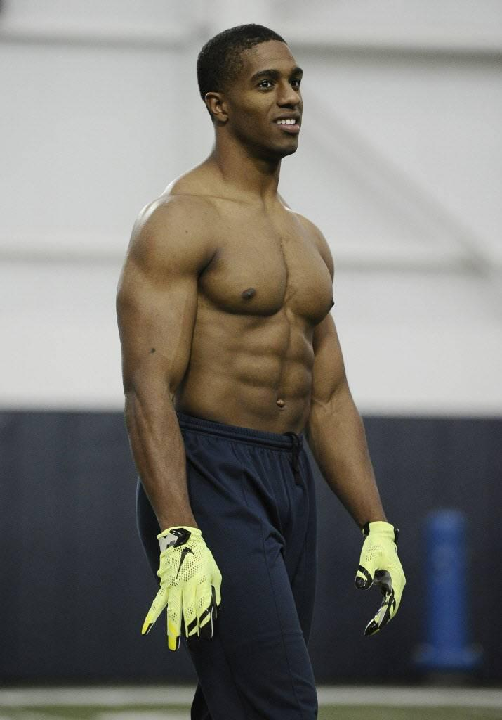 Machota With Senator Byron Jones Cowboys Drafted More Than Just A Workout Warrior