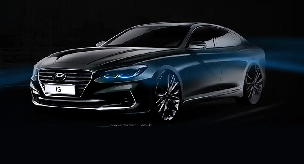2018 Hyundai Azera set for handsome new look