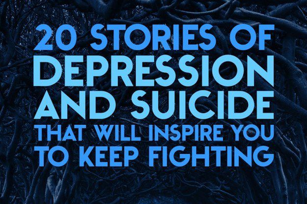 20 Stories of Depression And