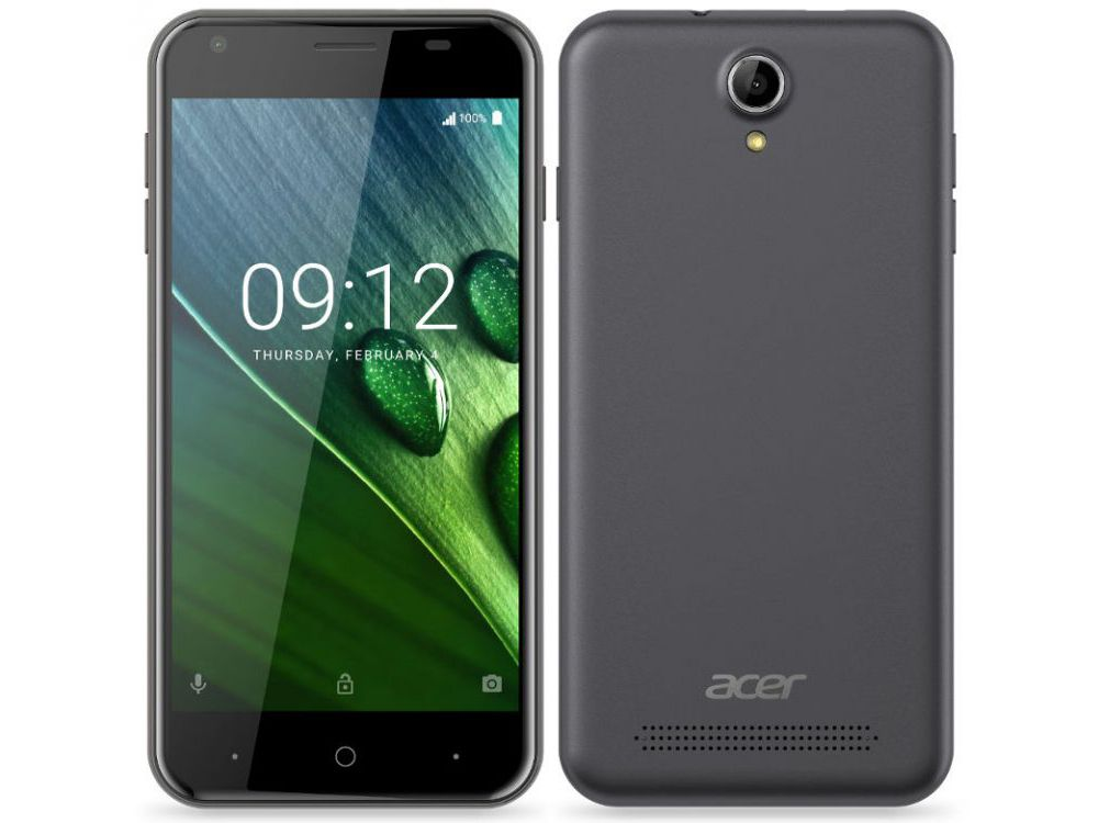 Acer Liquid Z6 4G LTE-Enabled Android 6.0 Smartphone Announced