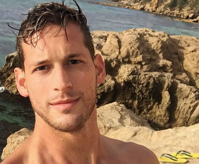 Max Emerson Went Surfing Without His Shorts Gus Kenworthy -1452