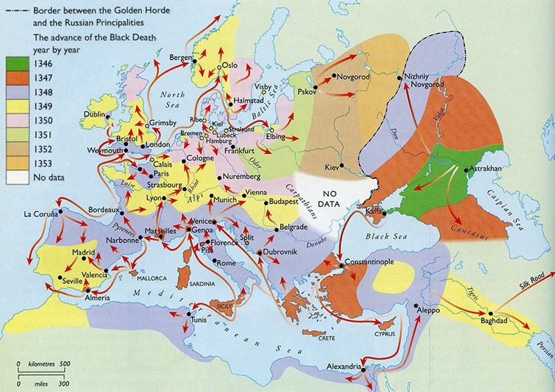 an analysis of the huge effect of the black death on europe in the middle ages - the black death the black death was undoubtedly one of the most devastating diseases that occurred during the middle ages the black death, also known as the bubonic plague, was a world-wide epidemic that caused the death of more than 20 million people throughout europe (velenzdas.