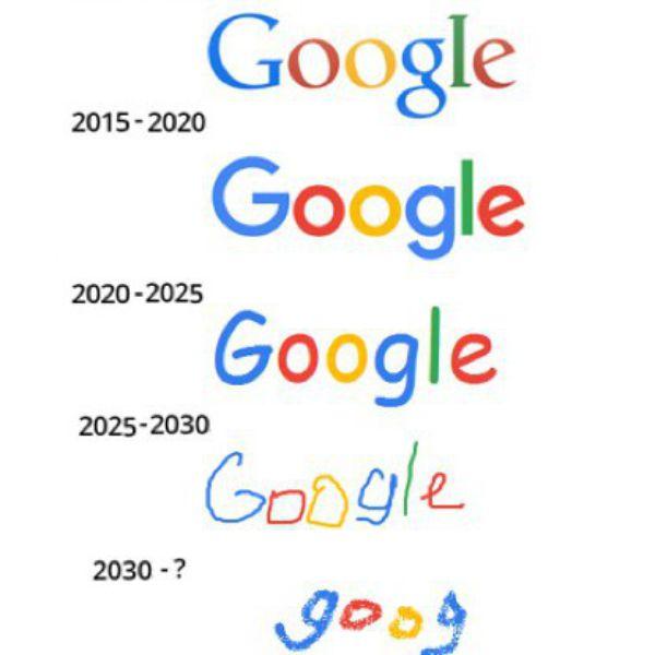 the future logos of google