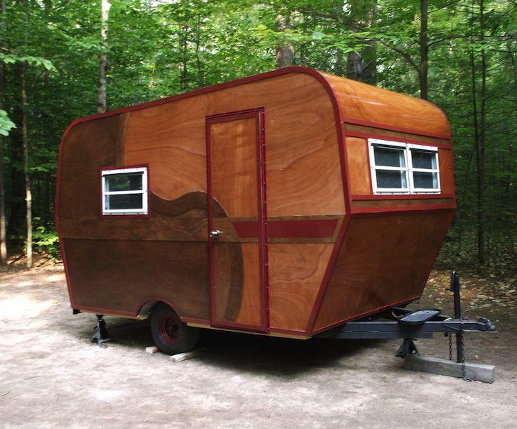 Complete Rebuild of 1969 Vintage Camper