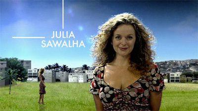 julia sawalha husband