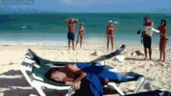 прикольные гифки пляж очень хотелось жить
