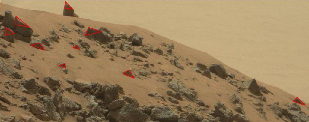pyramids on mars planet - photo #25