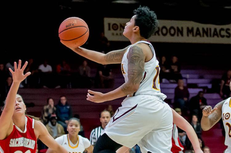 Iona's Martinez Earns Third Straight All-Met WBB First ...
