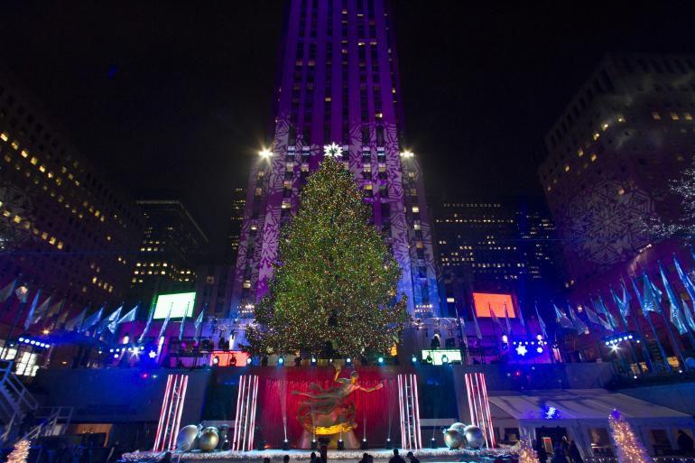 Rockefeller Center Christmas Tree Lighting 2014: When And