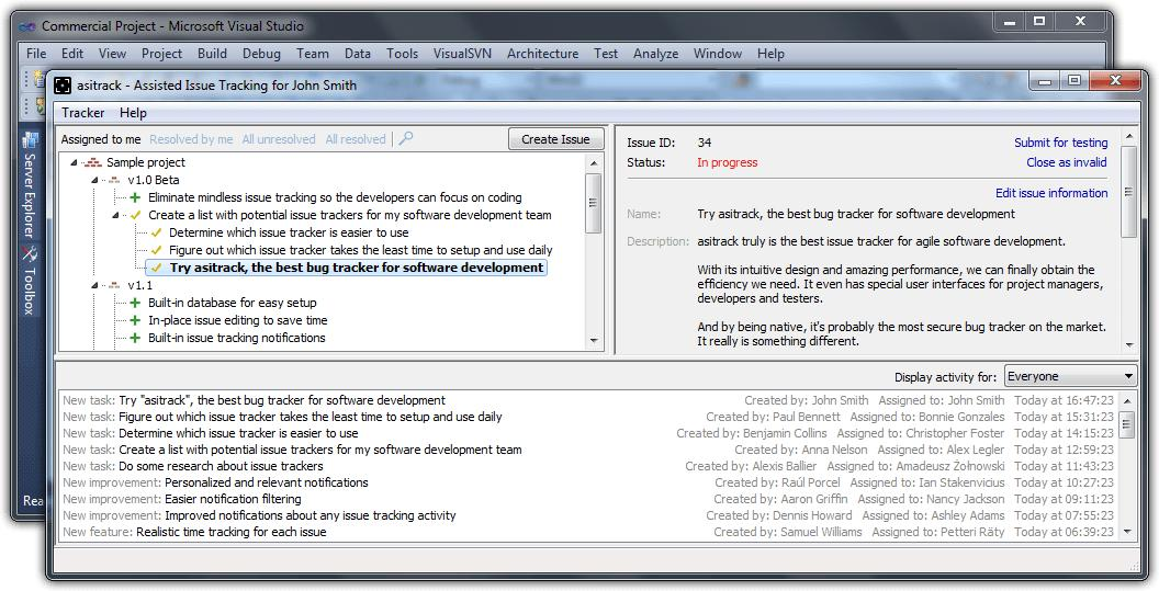 asitrack   the best bug tracker for agile software development