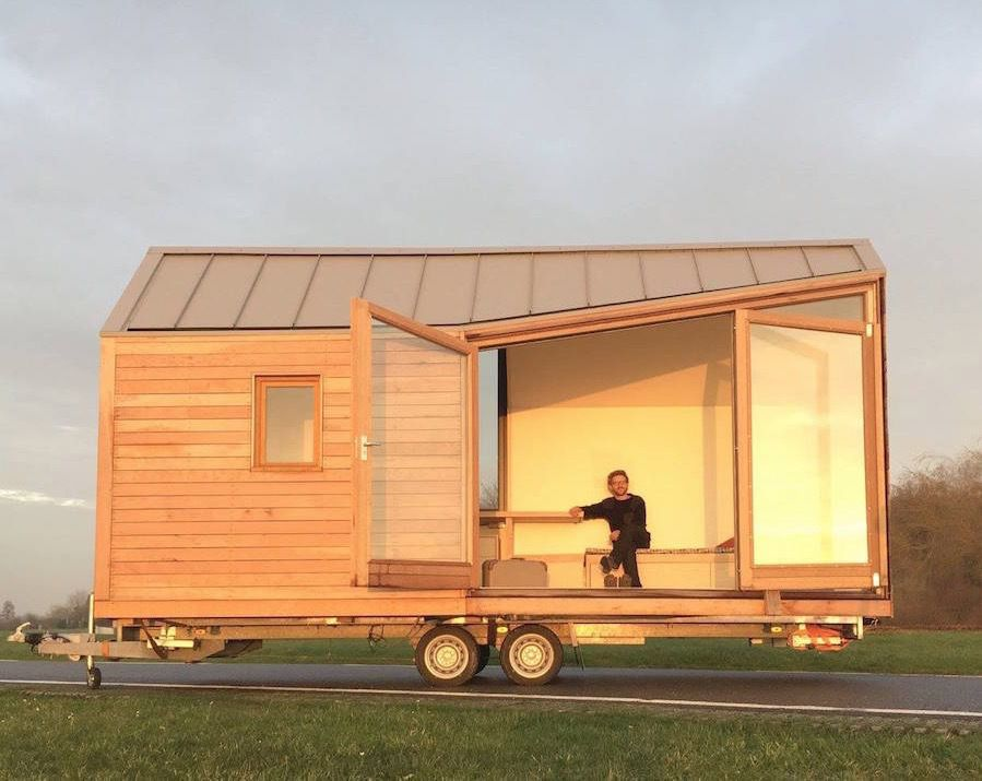 porta palace modern tiny house on wheels