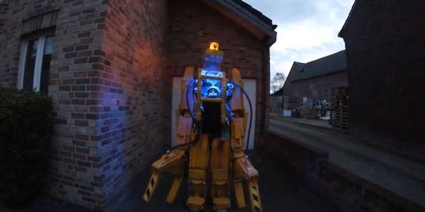 Aliens Robot Suit Robot Suit From 'aliens'