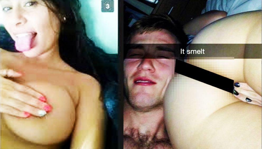 People having sex on snapchat