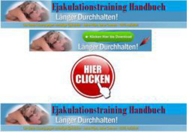 Ejakulationstraining Handbuch Erfahrungen