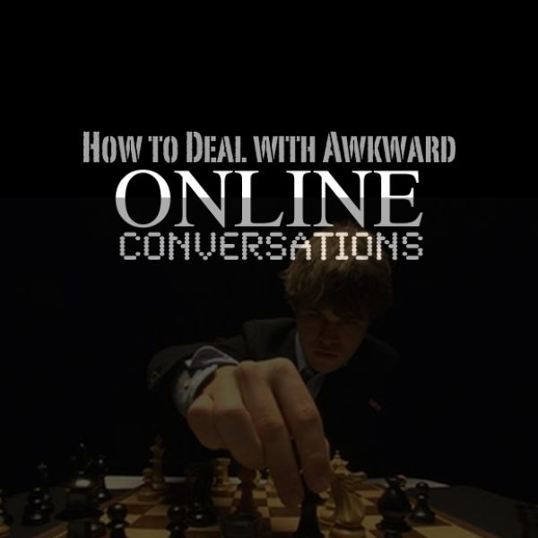 How to handle awkward online dating