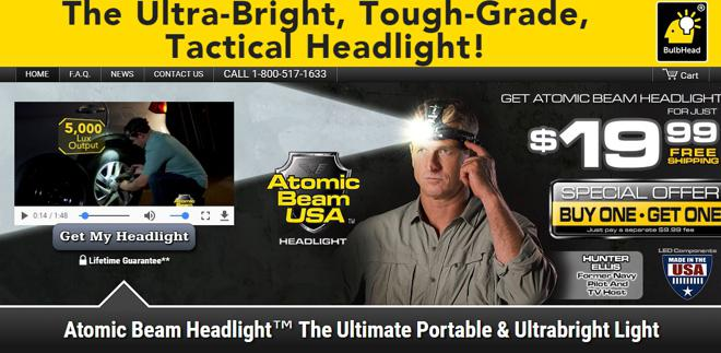 Atomic Beam Headlight Review Does It Work Freakin Reviews