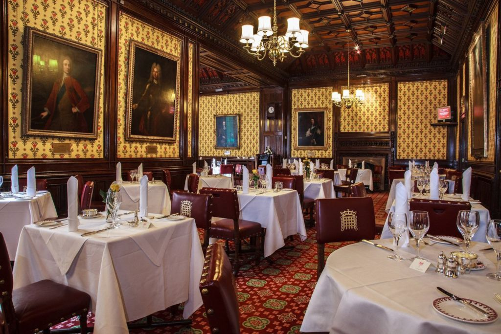 A Peek Amp Lunch Inside The House Of Lords Dining Room