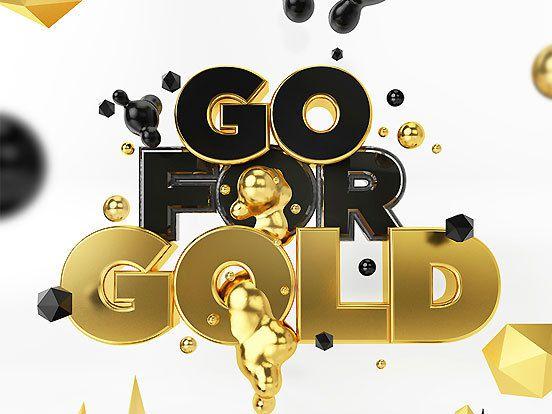 go for gold fonts inspirations the design inspiration. Black Bedroom Furniture Sets. Home Design Ideas