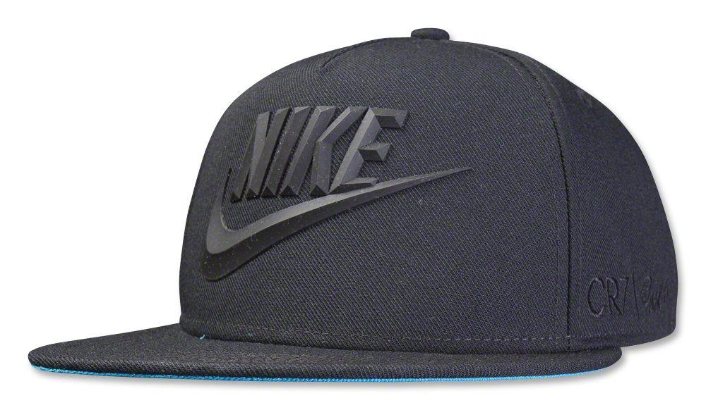 Nike CR7 True Flat Bill Snapback (Black) - WorldSoccerShop.com 30879df5570