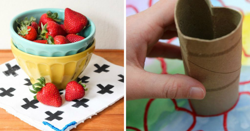 15 Random Household Items That Make Awesome Stamps