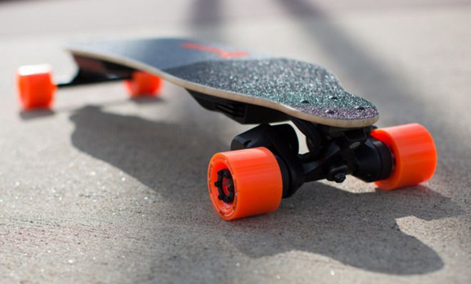 A Motorized Skateboard