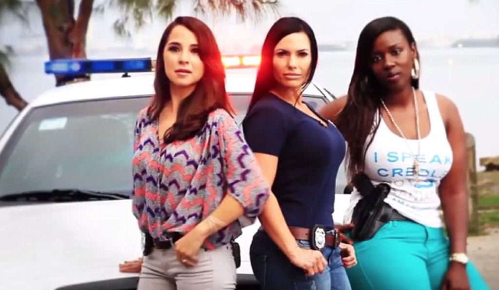 The Real Miami Vice Bikini Clad Female Cops Recruit Other Ladies, Miami Style Watch -4560