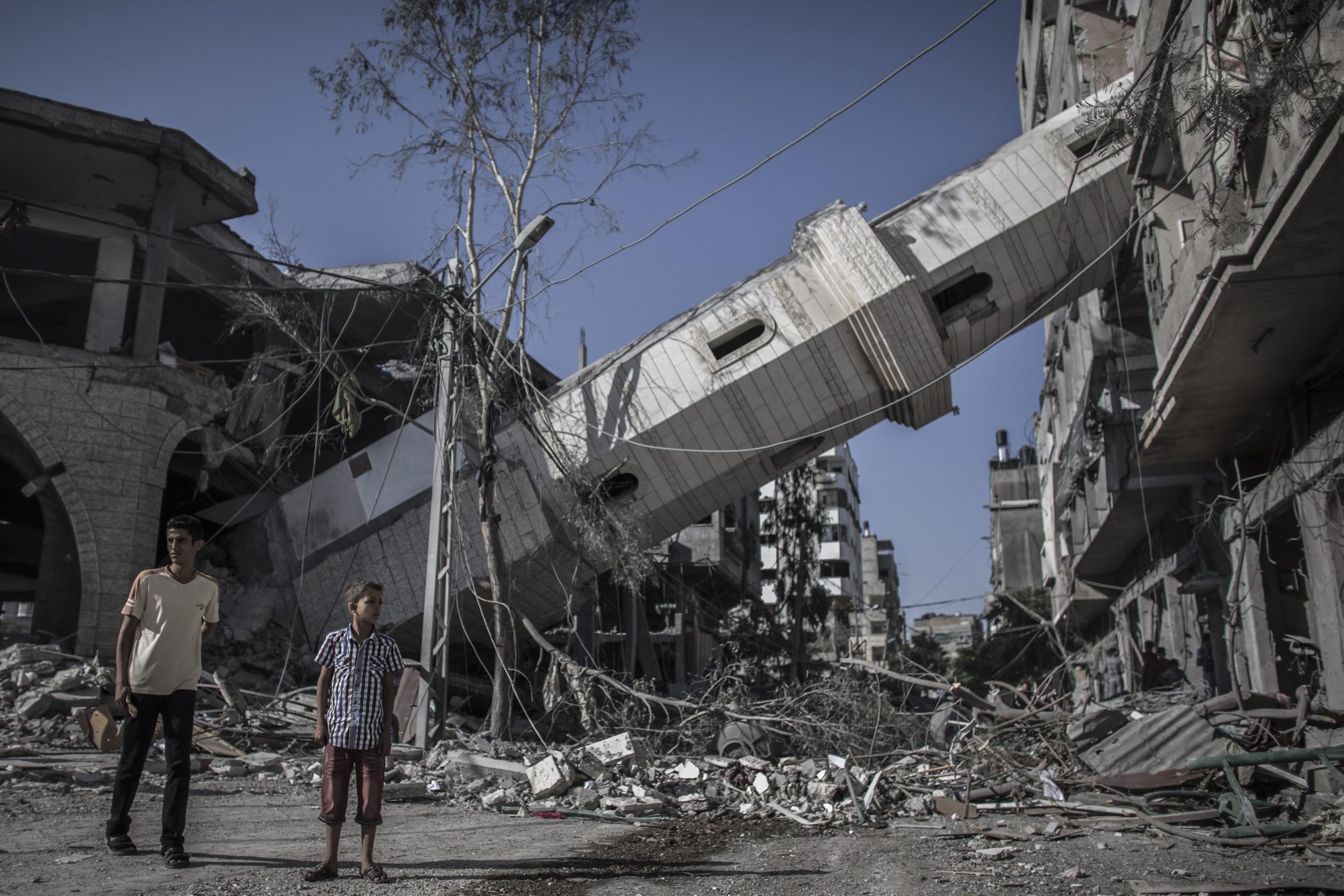 עזה Photo: Chile, Peru Recall Ambassadors From Israel Over Gaza