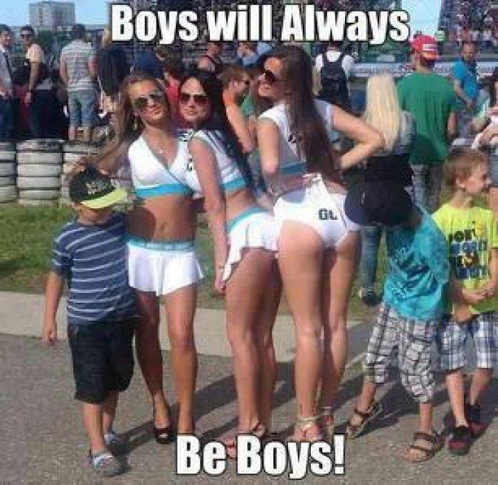 Boys One Dog Meme