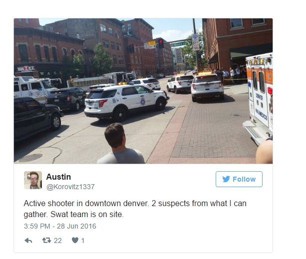 Multiple Victims Amid Active Shooting In Denver, Police Say