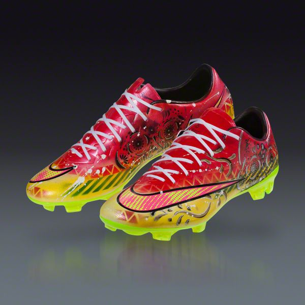 lowest price 931b7 1e421 Kickasso Kustom Sneakers - Cinco de Mayo Edition - Mercurial Vapor X FG  Firm Ground Soccer