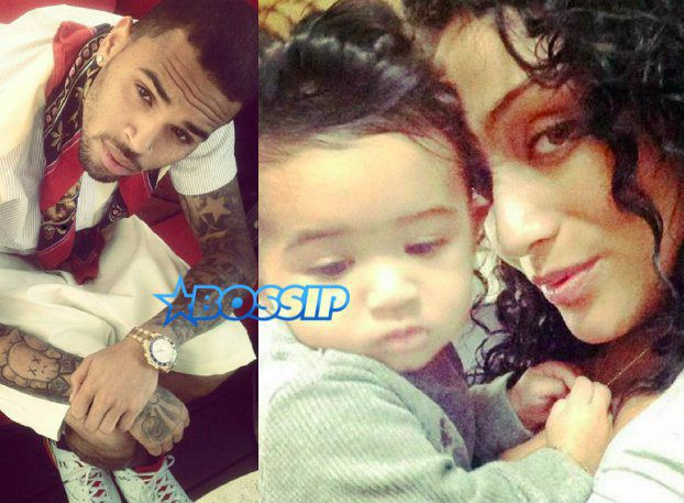 chris brown baby mama
