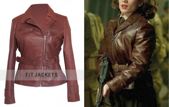Brown Leather Jacket Celebrity Celebrity Leather Jacket