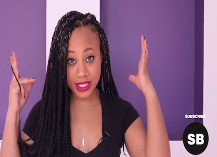 Awesome The Ladies Marley Twist Quick Tutorial Video Short Hairstyles For Black Women Fulllsitofus