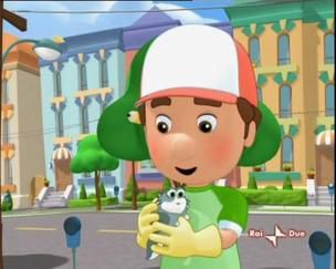Handy Manny Race Car