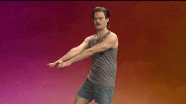 уже гифка танец руками определённо оно