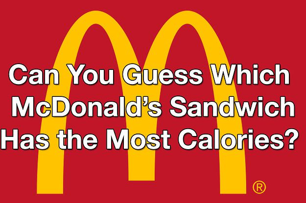 Can you pick the mcdonald 39 s sandwich that has the most for Calories in a mcdonald s fish sandwich