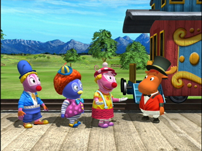 Watch Best Clowns In Town Ep 16 The Backyardigans