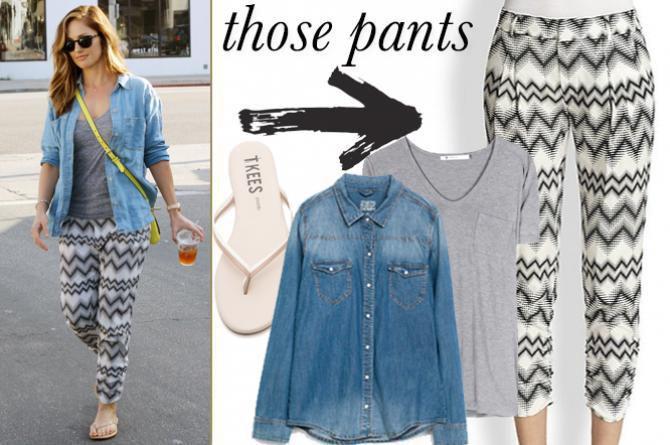Minka Kelly 39 S Boho Pants Are Too Chic Not To Shop High