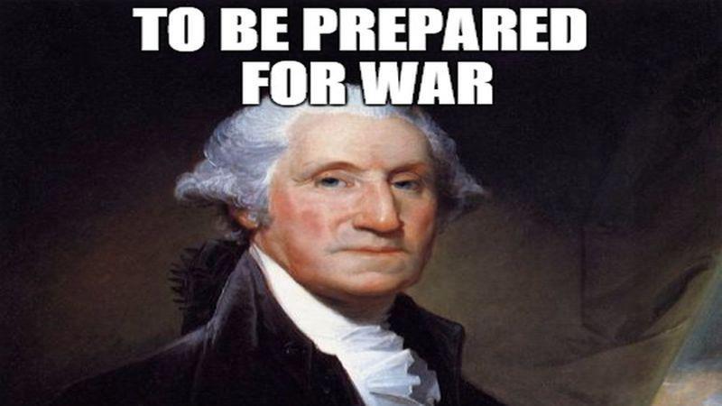 George washington s sage advice to obama about fighting isis meme