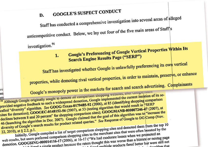 antitrust investigation on google essay Explore google's different revenue segments and its competitors in each,  could an antitrust investigation destroy google.