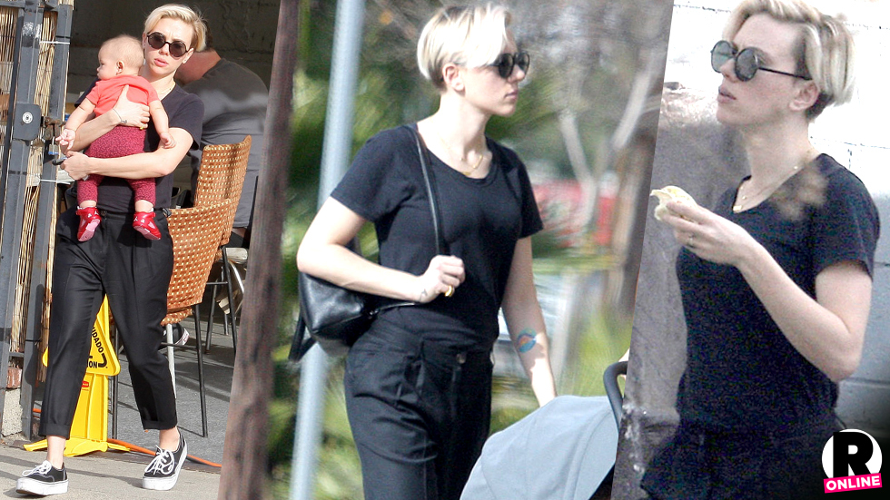 Scarlett Johansson Baby Weight Loss Photos | Radar Online