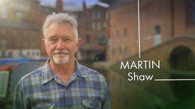 martin shaw wife