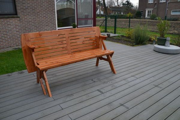Make This Bench That Converts Into A Picnic Table