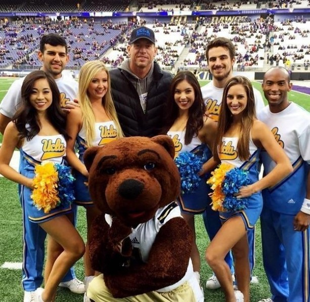UCLA cheer Team Loves them Some Troy