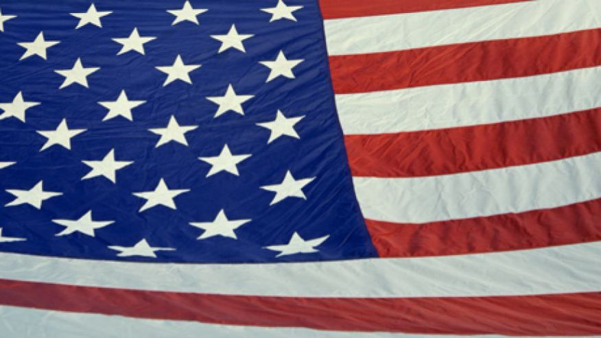Banned American American Flag Banned at