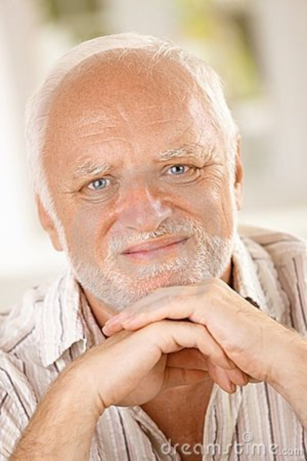 Stock Photo Aletia 164802918: Hide The Pain Harold: Old Guy, Stock Photo Model, Tortured