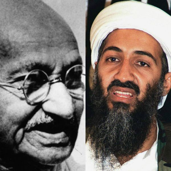 a comparison between the contrasting approaches of mahatma gandhi and osama bin laden The difference between a dictatorship and an oligarchy is that there are more decision-makers involved in a_____ oligarchy people within a state (country, nation-state, or multi-national state) are united by ties of common.